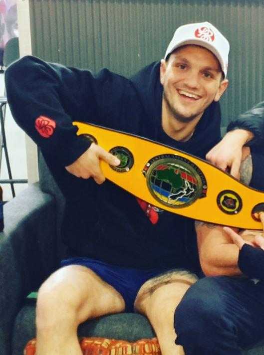michael pengue super welterweight